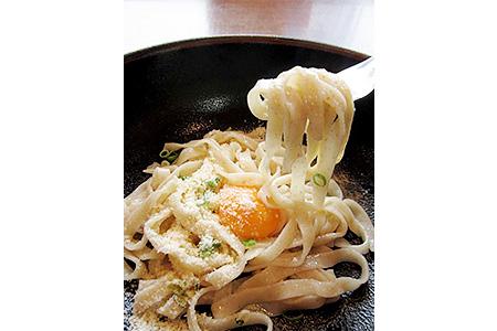 A29097 モチモチ食感の国東パスタ(ひまわりニンニクオイル付き)・通
