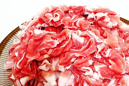 A29222 大皿でもハミ出し注意!大分県産豚の切り落とし(3.2kg)・通