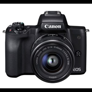 ZCAM14 キヤノンミラーレスカメラ(EOS Kiss M・EF-M15-45 IS STM レンズキット ・ブラック)