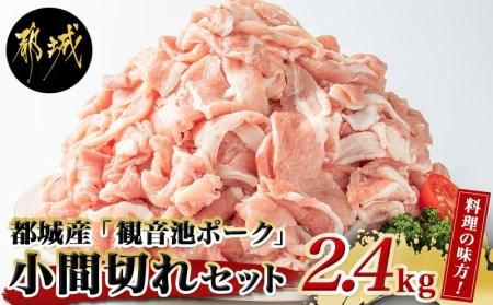 AA-7201_都城産「観音池ポーク」料理の味方!小間切れ2.4kgセット