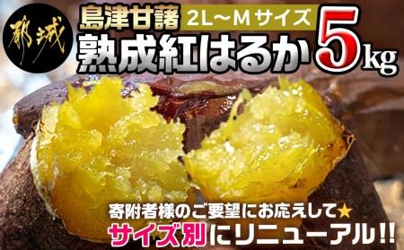 島津甘藷 熟成紅はるか 5kg(2L~2S)_LD-A701