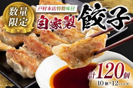 AA5-20 <戸村本店特製味付>自家製餃子(10個×12パック)計120個