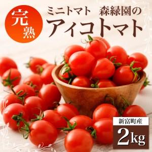 【完熟ミニトマト】新鮮アイコトマト 2kg【A83】