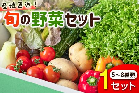 野菜ソムリエが選ぶ<旬のこゆ野菜セット ※お試し版>【A103】