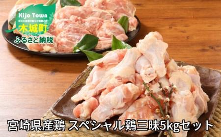 e161_sn <宮崎県産鶏 スペシャル鶏三昧5kgセット>2019年10月末迄に順次出荷