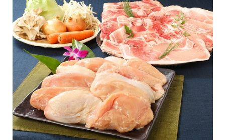 e171_sn <宮崎県産豚・鶏5kgセット>2019年10月末迄に順次出荷