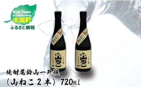 e181_ik <焼酎尾鈴山(山ねこ2本)720ml>1か月以内に順次出荷