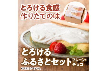 i2702とろける生チーズケーキ(プレーン&チョコ)