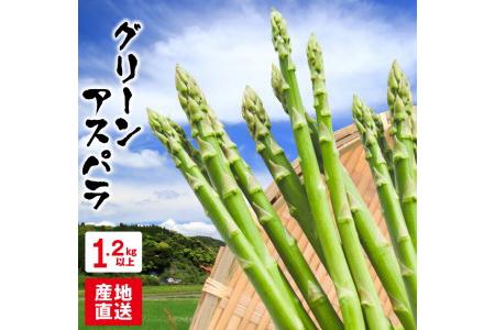 A415 グリーンアスパラ(計1.2kg以上)宮崎県都農町産