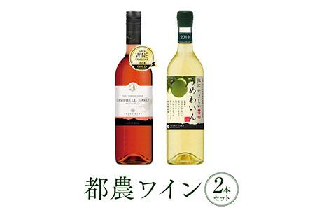 A290 ヘルシー!!うれしー!!ロゼ&うめわいん 2本セット(都農ワイン)