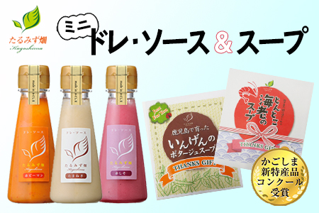 W-0703/たるみず畑 ミニドレ・ソース&スープセット