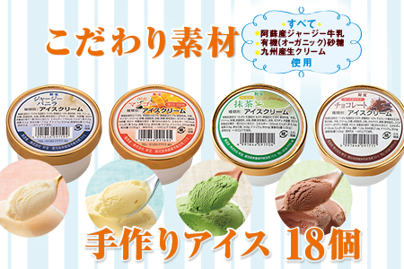A1-2201/手作りアイス18個 ほど良い甘さと豊かな風味