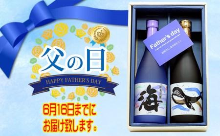 A1-2522/【父の日までにお届け】父の日 大海酒造セット