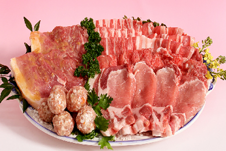 28-B-④ 鹿児島黒豚やごろう豚のバラエティセット