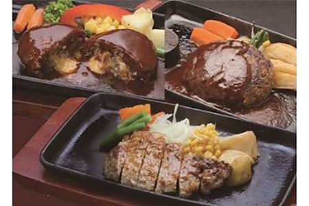 C-032 鹿児島県産黒豚ハンバーグ・ステーキセット約2.9㎏