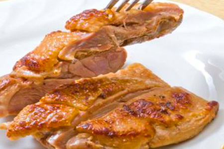 【2610-0460】種子島産インギー地鶏もも肉焼きあげステーキ塩・胡椒・たれ焼き上げ