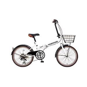 【2610-0058】フォルクスワーゲン 20インチ折畳自転車(6S)