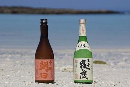 黒糖焼酎2本セット(壱乃醸朝日・三年寝太蔵)B-⑰