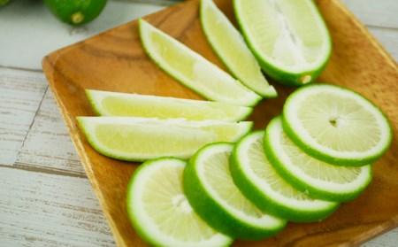 沖縄県産 香り爽やかなグリーンレモン(香水レモン)秀品 1.5kg