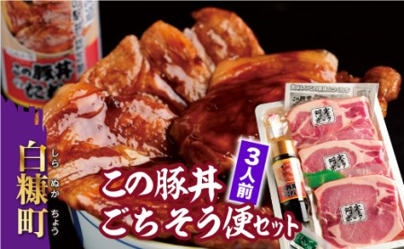 この豚丼 ごちそう便セット