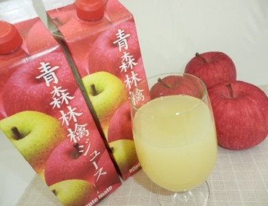 キタエアップル 青森林檎ジュース 1,000ml×6本