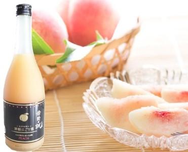 津軽の桃 ~とろりと甘い~つがるにごり酒720ml×1本