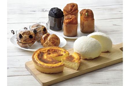 なよろ菓子工房ブラジル チーズケーキ食べ比べセット