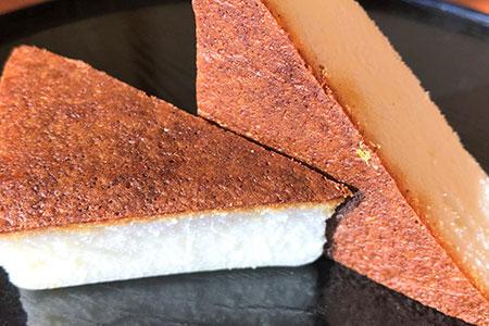 百年の蔵元「菊駒」香る和風ケーキ