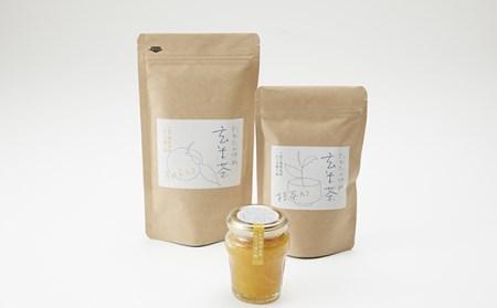 陸前高田からの贈り物 たかたのゆめ玄米茶とゆずマーマレード