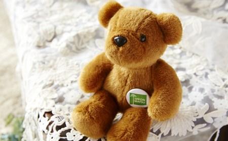【障がい者支援施設製作】可愛いクマのぬいぐるみ