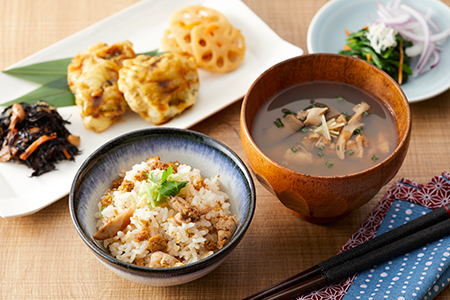 RT496 「陸前高田の夢貝かぜ」ウニとエゾイシカゲ貝の和風スープ