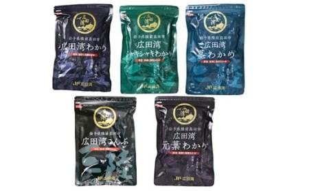 RT824 広田湾漁協からお届け!わかめ・こんぶセット【期日指定不可】