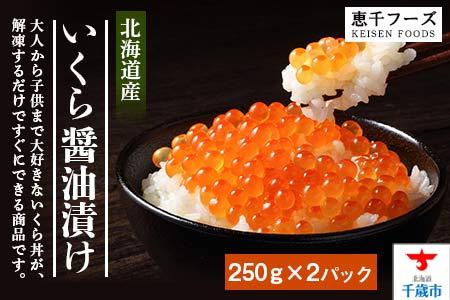 いくら醤油漬け 500g【魚貝類/いくら・イクラ・シーフード】