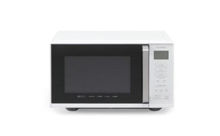 電子レンジ フラットテーブル 単機能22L IMB-F2201-W