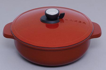 [№5730-0067]無加水鍋 28cm浅型 MKSN-P28S