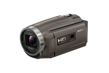 No.4007 ソニーデジタルHDビデオカメラレコーダー HDR-PJ680(TI) ブロンズブラウン