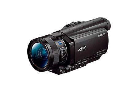 No.4011 ソニーデジタル4Kビデオカメラ レコーダーFDR-AX100