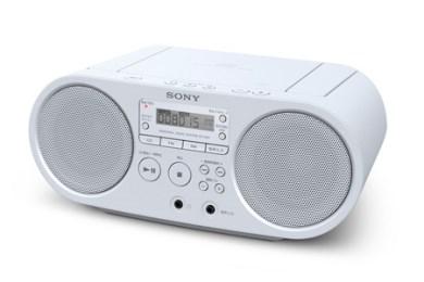 【116】ソニーCDラジオ (ZS-S40 ホワイト)-10,000ポイント