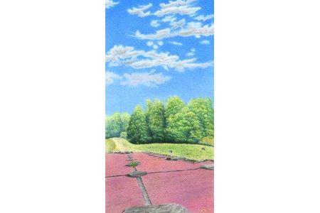 A020 「多賀城の風景」ポストカード6枚とフレームセット