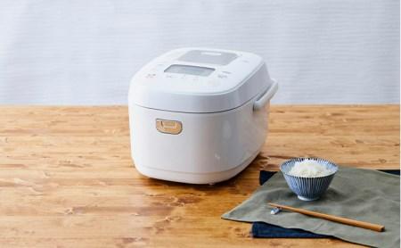 米屋の旨み 銘柄炊き IHジャー炊飯器 5.5合(RC-IK50-W)