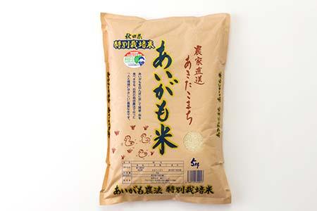 30P3002  秋田県特別栽培米あきたこまち「あいがも米」5kg 【30pt】