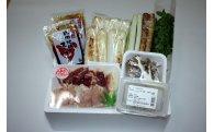 11012  50ポイント 比内地鶏きりたんぽ鍋セット(3~4人前)  田村精肉店
