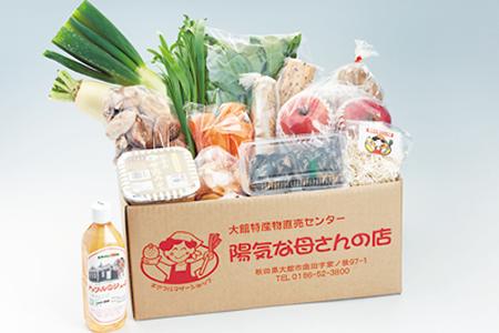 14401  50ポイント 旬の野菜宅配便  陽気な母さんの店(株)