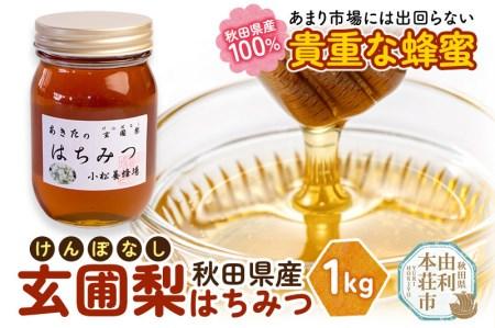 B81168秋田の玄圃梨蜂蜜(はちみつ)【発送は令和3年8月から!】