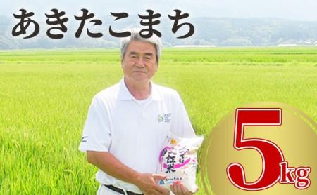 令和3年産 あきたこまち 白米 5kg 精米 土づくり実証米