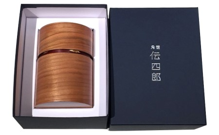 『角館 伝四郎』帯筒 茶筒(大)さくら