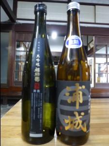 純米吟醸「浦城」・福禄寿大吟醸720ml 2本 Aセット