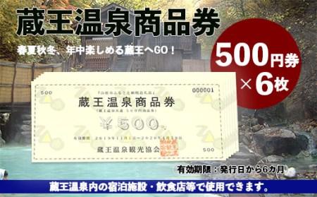 FY19-512 蔵王温泉商品券