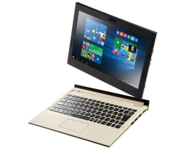 Z-82 NEC LAVIE Direct HZ(D)【2017年春モデル】PCにもタブレットにもなる11.6型液晶搭載の超軽量モバイルノート