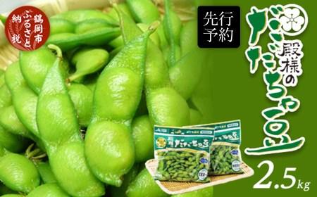A03-601 【前期】殿様のだだちゃ豆250g×10袋(2.5kg)